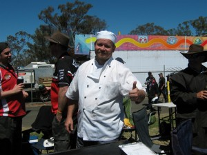 Avaa .. Our chef on The Mountain