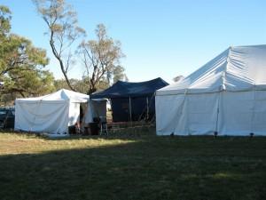 Camp BevanLand Wednesday morning.